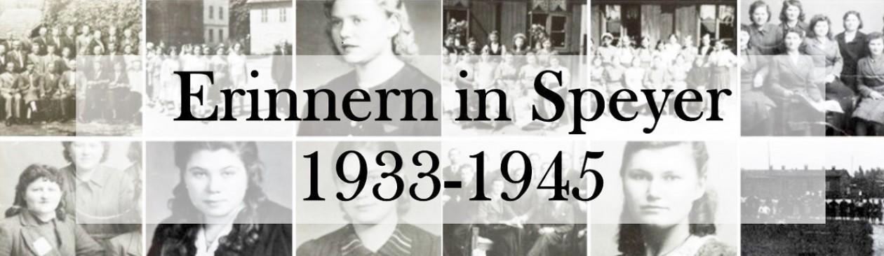 Erinnern in Speyer 1933-1945